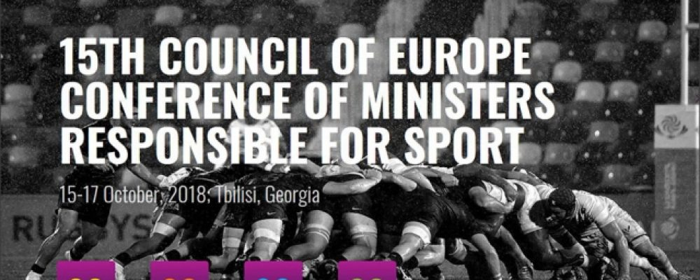 Tbilisi Hosts Conference of European Sports Ministers