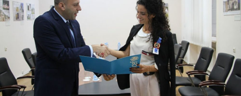 New Head of UNICEF Officially Presented in Georgia
