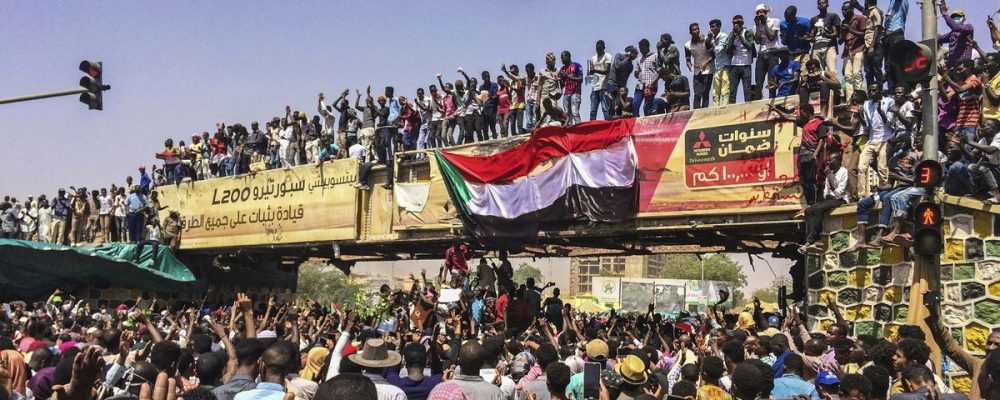 Sudan coup leader stepped down, after just a day in power