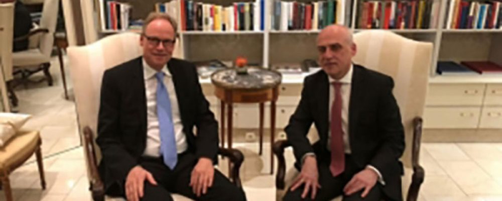 Georgian FM Meets Special Representative of the Federal Government of Germany