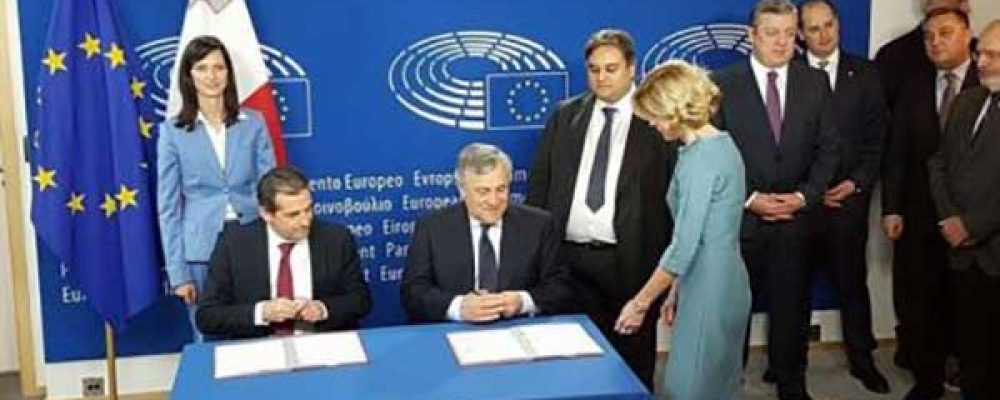 Historic day: Visa-free travel for Georgia officially signed in Brussels